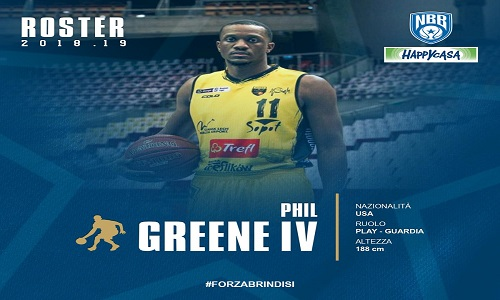 Happy casaa nuovo giocatore per i play off:Edward Green IV