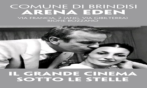 Cinema d'estate.La programmazione dell'arena Eden